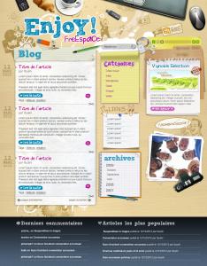 Webdesign blog
