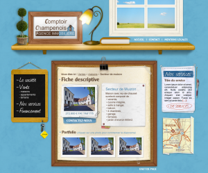 Webdesign Agence immobilière
