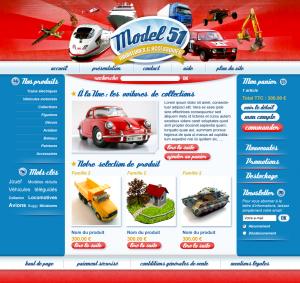 web design maquettes