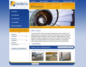 web design escalier