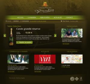 Webdesign Boutique Champagne