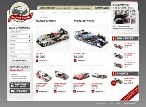 Boutique de miniatures auto