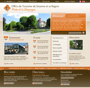 web design office tourisme